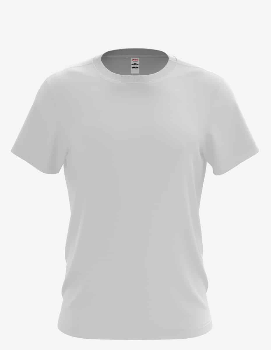 3030 white front, Bulk Curved Hem T-Shirt