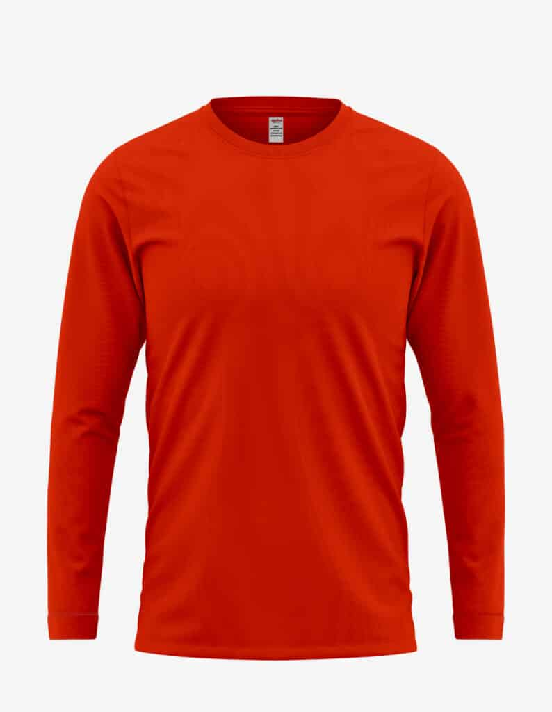 3055 red front, Long Sleeve T-Shirt