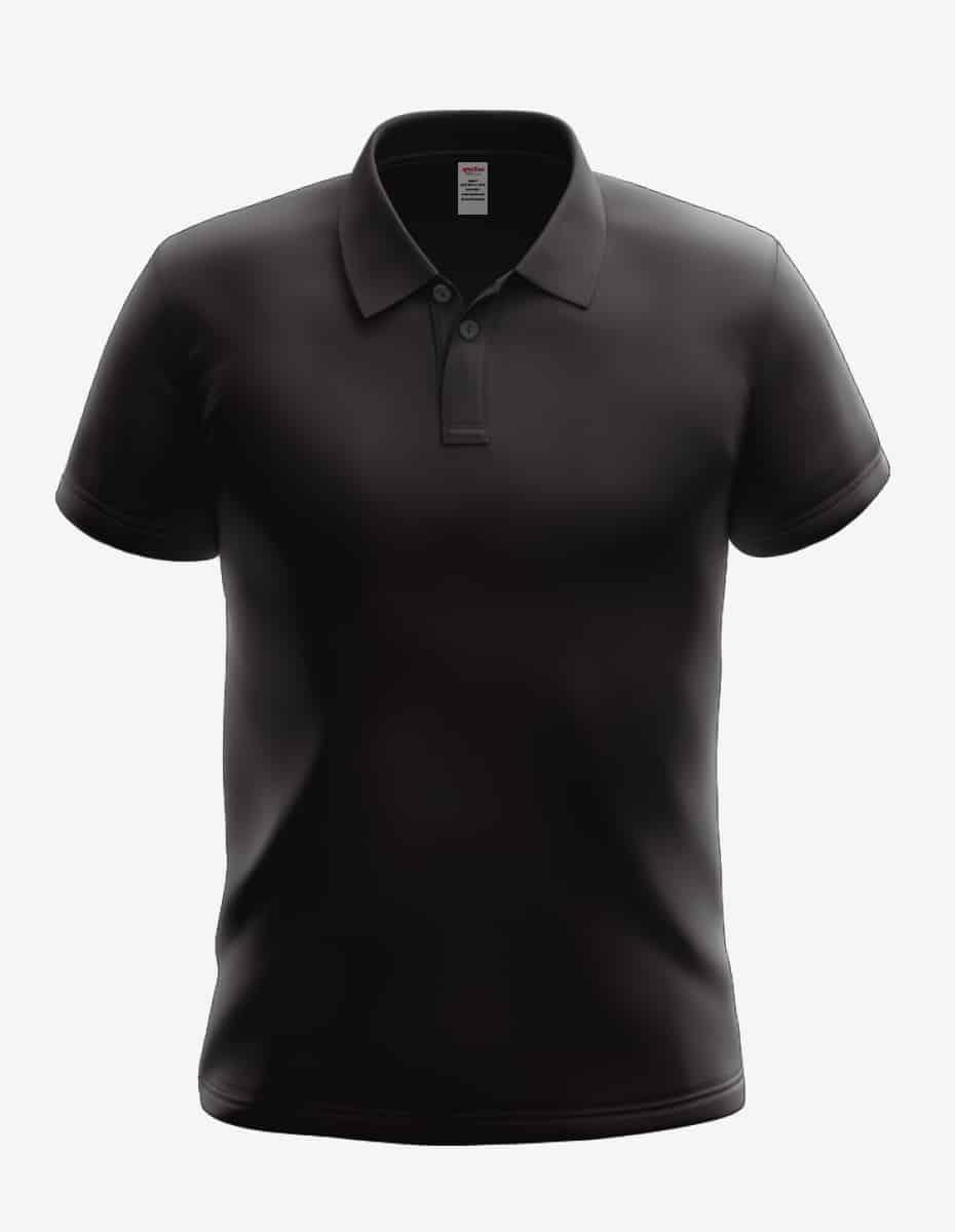 7020 black front, SpectraTech Technical Polo Shirt | 7020, Bulk Polo Shirt