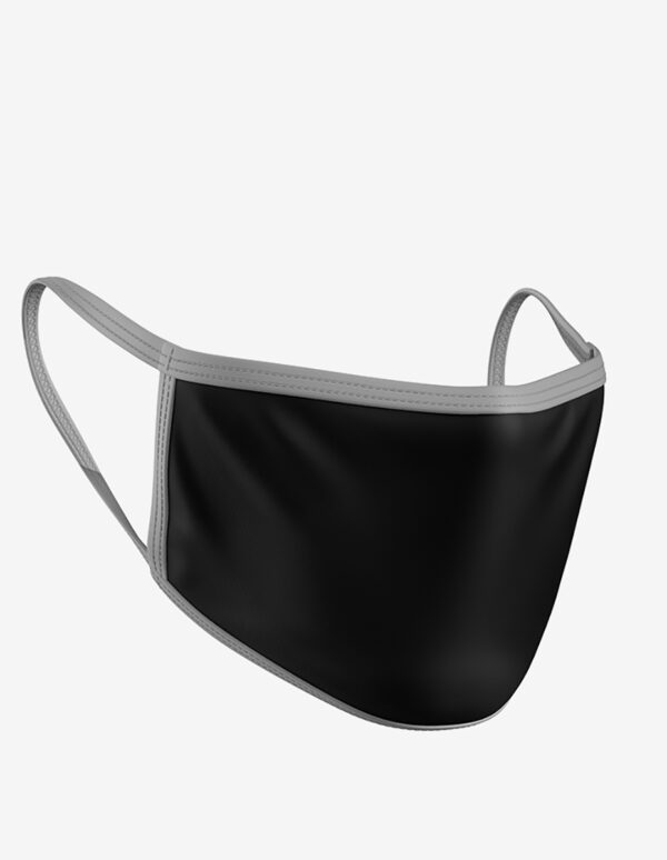 black grey45, Standard Face Mask