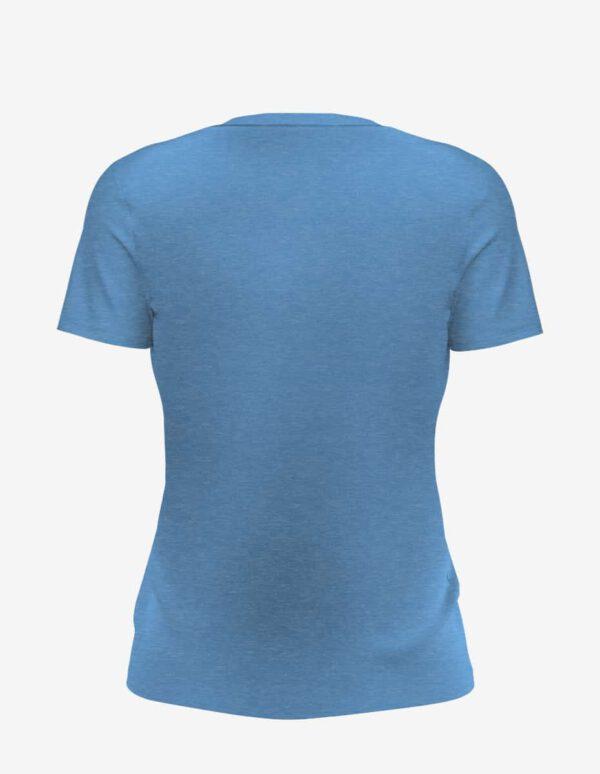 light blue heather back