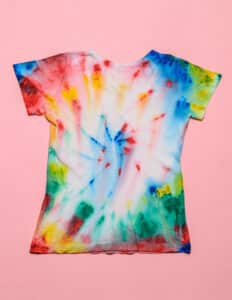 Bleach and Reverse Tie-Dyeing