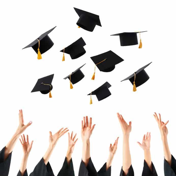 Graduating is here